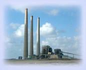 תחנת כוח שפועלת על חומרי דלק