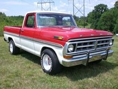 1971 F100 Ford