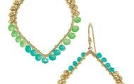 Raina Earrings - Turquoise
