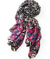 Jeweled Zebra Scarf; orig. $59, sale $25