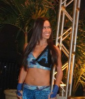 Aj Lee In FCW Aka NXT