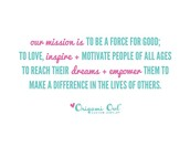 Origami Owl's Mission Statement