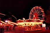 A midnight carnival ride