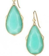Sentiment Earrings Mint