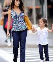 Salma & her daughter