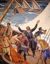 The death of Bartholomew Dias