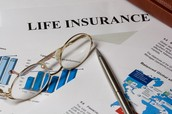 If a man dies, his wife is covered by life insurance