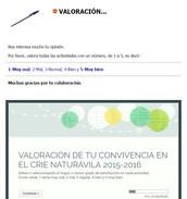 VALORACIÓN INDIVIDUAL DE LA CONVIVENCIA