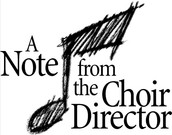 Choir Concerts - TONIGHT - Thursday, October 15