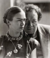 Diego Rivera and Frida Kahlo in Mexico, 1933