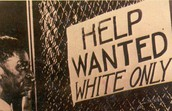 Help wanted for only whites
