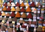 A market in Morroco