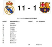 Watch Real Madrid beating Barcelona at El Clasico