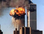 Twin Towers in 9/11.