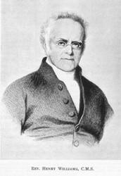 Reverend Henry Williams