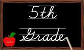 Keep it up 5th Grade Readers! - May 12th