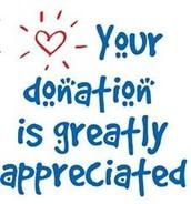 Donations are appreciated!!  :)