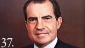 President Nixon takes charge