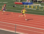 State Champion in 800 M Run
