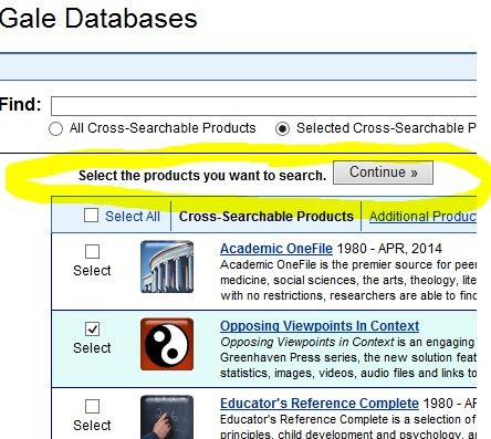 Research w/Databases | Smore Newsletters