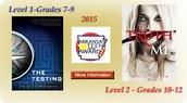 AR Teen Read Winners for 2015