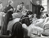 Clara Barton Helping The Wounded