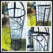 Hand Welded Iron Bar ~ $695