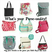 Some of our CUTE purses!