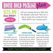 The household package plus is a beginners dream to Norwex!