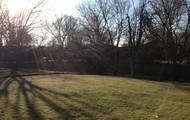 HUGE, fenced back yard