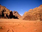 Woestijnklimaat. Hoe het er uit ziet.