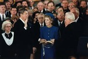 Reagan Taking His Presidential Oath