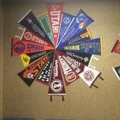 College Pennant Pinwheel