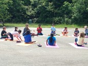 Outdoor mindfulness!