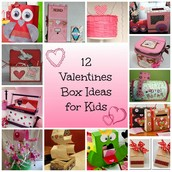 Valentine's Parties and Boxes