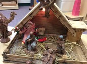 Maria was in the Nativity Scene.