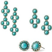 Sardinia Chandeliers in Turquoise- $59
