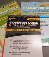 Common Core Quick Flip Reference Books
