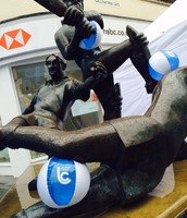 Leicester Statue gets a LC Makeover