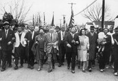 This is a picture of people marching for voting rights!