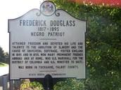 Frederick Douglass's sign