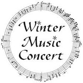 Winter Music Concert THIS MONDAY!  December 7th, 2015