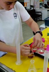שאלת החקר: כיצד משפיעה כמות החומץ על נפח הבלון