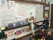 Mrs. Perez's 2nd grade wrote about the importance of the Great Lakes.