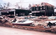 Damage caused by Hurricane Camille