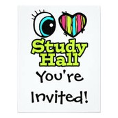 Study Hall after school daily!