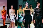 The Art Institute of Seattle Fashion Show: Runway District