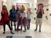 hallway on costume day!