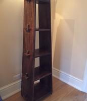 SOLD Wooden A-Frame Shelf - £20