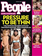 People magazine, Is thinner really better?